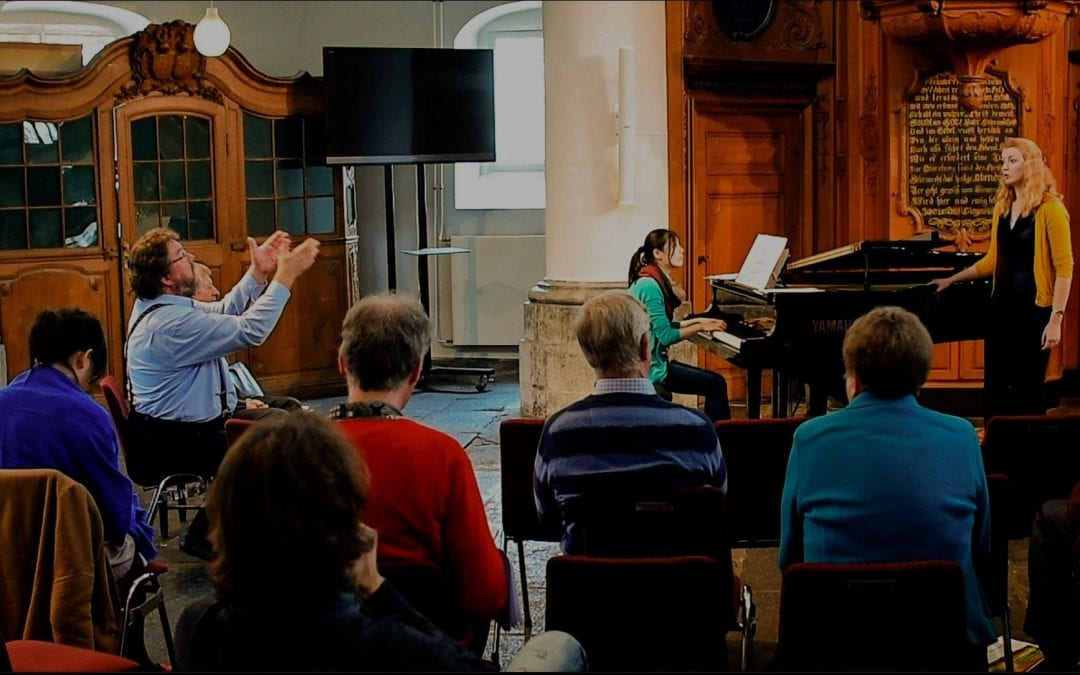 Vocallis Academy- Masterclass voor internationale zangers en pianisten