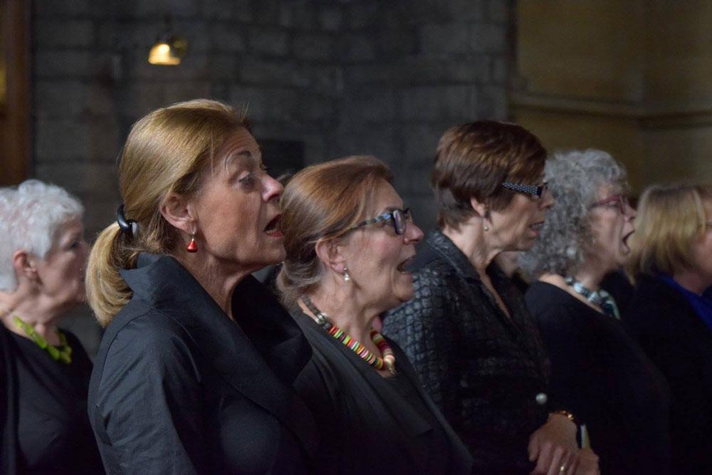 Presentatie Zing en Beleef een groot succes in de Sint Janskerk