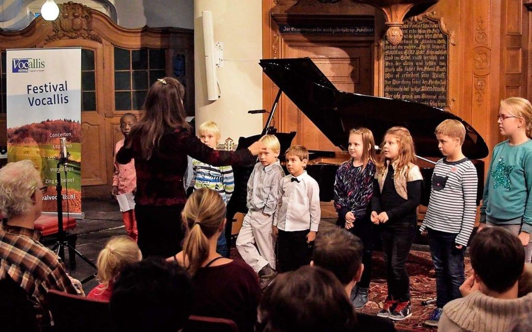 Presentatie koor jeugdigen Vaals